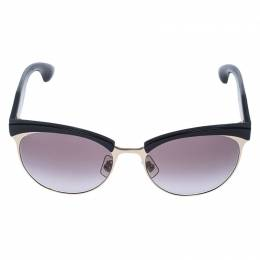 Miu Miu Black/Brown Gradient SMU 54Q Stardust Sunglasses 238963