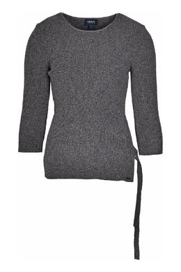 Серый джемпер с отделкой Armani Jeans 1742162194