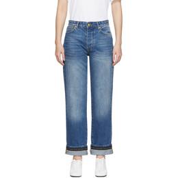 Victoria, Victoria Beckham Blue Arizona Jeans 2419DJE000218A