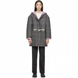 Ienki Ienki Grey Down Woolmark Coat Duffle Coat