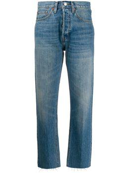 Re/Done зауженные джинсы с необработанными краями 1883WSTV27