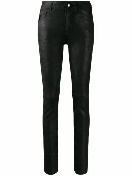 Yves Salomon брюки скинни 20DYP616XXAPSD
