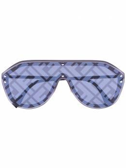Fendi Eyewear солнцезащитные очки-авиаторы Fabulous с логотипом 201658V8199MD