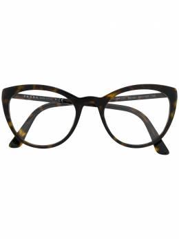 Prada Eyewear очки в оправе черепаховой расцветки VPR07V