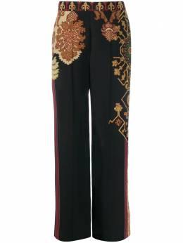 Etro широкие брюки с принтом 176455299