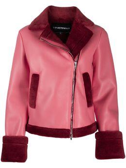 Emporio Armani куртка с подкладкой из овчины 6G2B752NUBZ