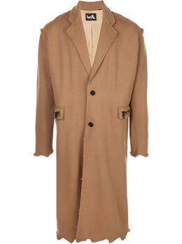 Haculla однобортное пальто HA08AIX18B
