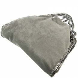 Stella McCartney Gray Nylon Falabella Shoulder Bag