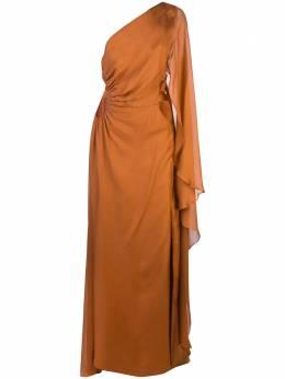 Cult Gaia вечернее платье Cosette асимметричного кроя 50046K01
