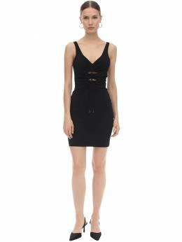Платье Из Крепа И Джерси Alexander Wang 70I5BR104-MDAx0