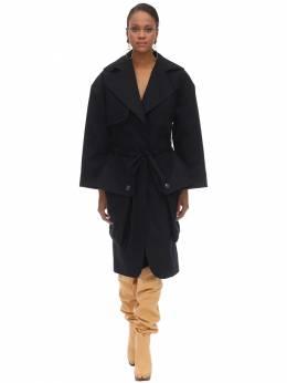 Пальто Из Хлопкового Канваса Jacquemus 70I526026-MTk0IDMwMzkw0