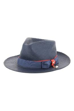 Соломенная шляпа синего цвета Patrizia Pepe 1748163491