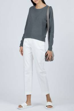 Темно-серый свитер с блестками Fabiana Filippi 2658162636