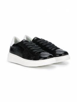 Philippe Model Kids кроссовки на шнуровке BAL0LT4B