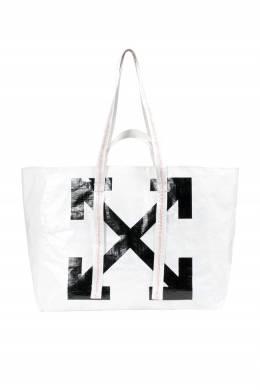 Белая сумка-тоут Off-White 2202163406