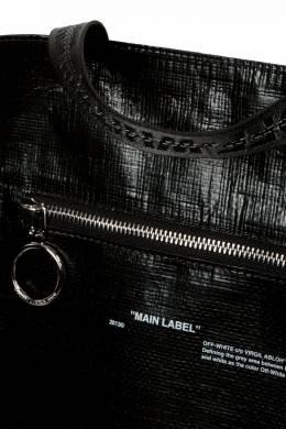 Черная сумка-тоут Off-White 2202163407