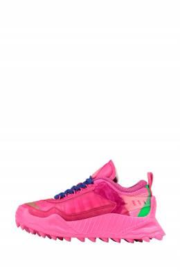 Розовые кроссовки Off-White 2202163404