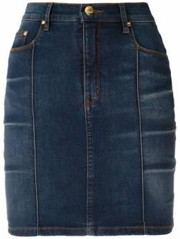 Amapo джинсовая юбка Cris с завышенной талией AMV11037