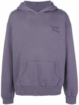 Simon Miller oversized embroidered logo hoodie M3144037