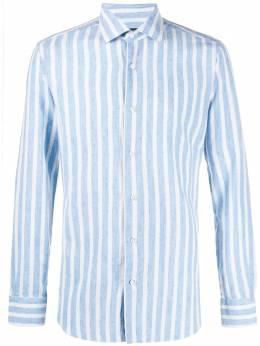 Barba рубашка в полоску K1U12H6014