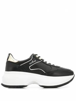 Hogan кроссовки на шнуровке HXW4350BZ50LOK547D