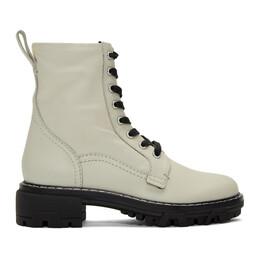 Rag&Bone Off-White Shiloh Boots WFF19FF0233D23-ANTQWH