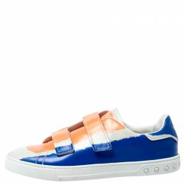 Tod's Multicolor Leather Velcro Strap Sneakers Size 43 242027