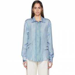 Emilio Pucci Multicolor Silk Hanami Print Shirt 9URJ70 9U953
