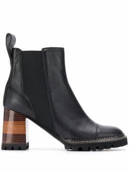 See By Chloe ботинки Eileen на блочном каблуке SB33081A