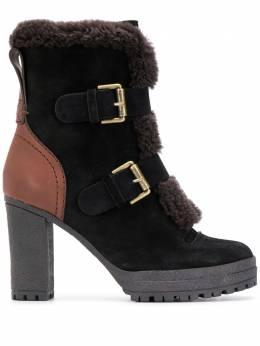 See By Chloe ботинки на блочном каблуке SB33132A