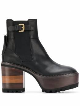 See By Chloe ботинки на блочном каблуке и платформе SB33010A