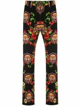 Facetasm флисовые брюки с принтом PTM21