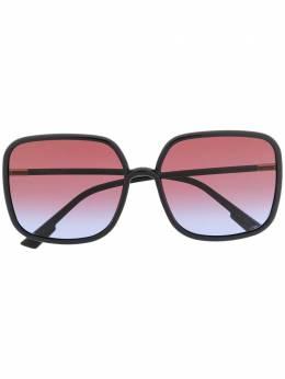 Dior Eyewear солнцезащитные очки Stellaire1 в массивной оправе DIORSOSTELLAIRE1