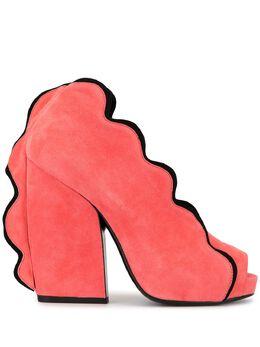 Pierre Hardy туфли Sottsass с открытым носком THESOTTSASS