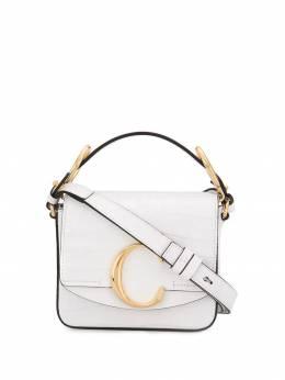 Chloe сумка на плечо с пряжкой CHC19US193A87