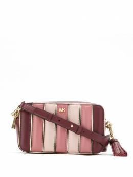MICHAEL Michael Kors каркасная сумка с полосками 32H8GF5M2K