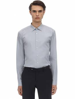 Cotton Poplin Button Down Shirt Salvatore Ferragamo 70IX0A004-NzIyNzQy0
