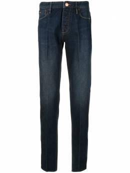 Emporio Armani джинсы кроя слим с завышенной талией 6G1J751DIAZ