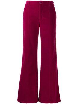See By Chloe расклешенные вельветовые брюки CHS19WDP01162