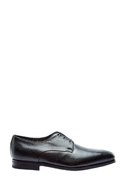 Черные лакированные туфли Santoni 1165162407