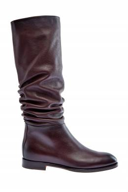 Сапоги коричневого цвета Santoni 1165162401