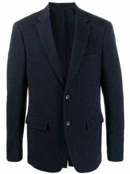 Salvatore Ferragamo пиджак в ломаную клетку 716963
