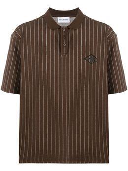 Han Kjobenhavn рубашка-поло в тонкую полоску M120020