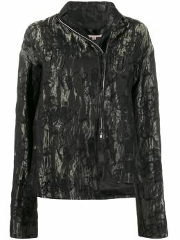 Romeo Gigli Pre-Owned куртка 1990-х годов с цветочным принтом и эффектом металлик RGLI250V