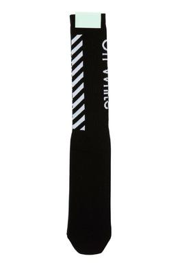 Черные носки с логотипом Off-White 2202164471