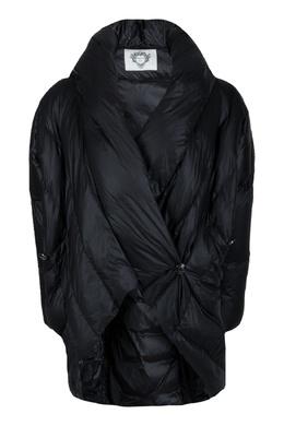 Асимметричный черный пуховик Diego M 2928164550