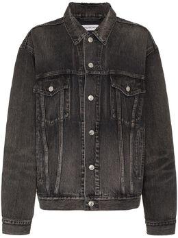 Balenciaga джинсовая куртка с логотипом 529177TBP47