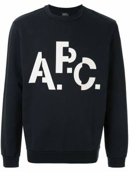 A.P.C. толстовка с логотипом Décalé CODCQH27529