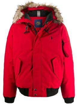 Polo Ralph Lauren куртка с капюшоном и мехом 710756920