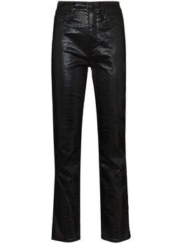 Frame брюки Le High с тиснением под крокодила LSYCR067P